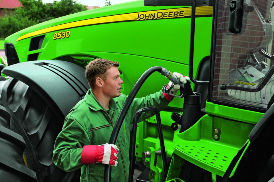 John Deere rozszerza program gwarancji spalania paliwa w ciągnikach