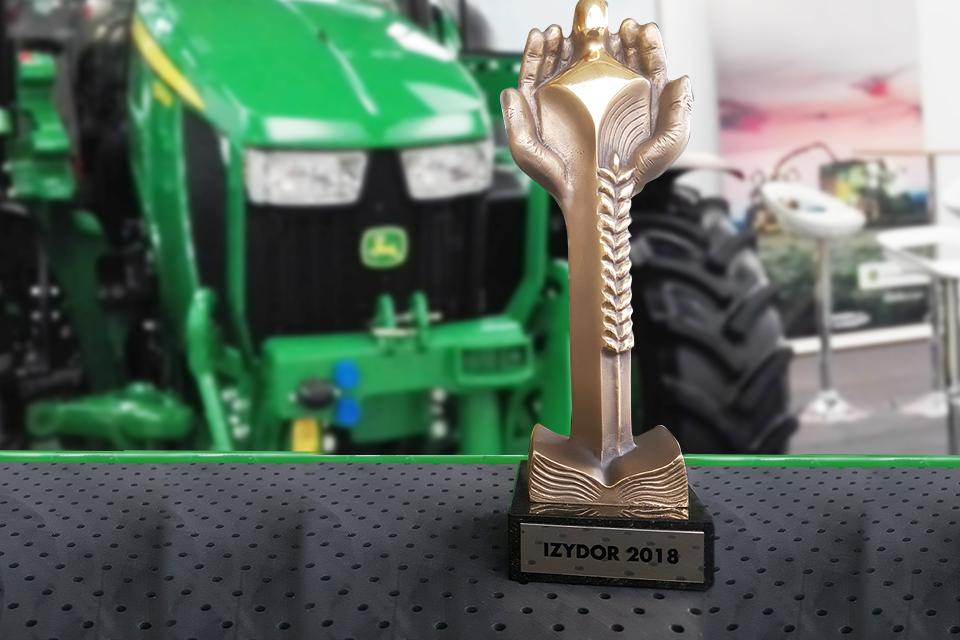 Plebiscyt Izydory 2018: John Deere najbardziej przyjazny w kategorii Technika