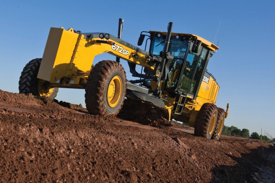 John Deere zaprezentował maszyny na największych targach budowlanych