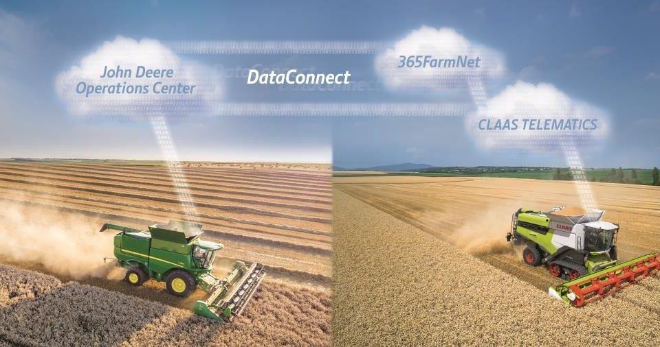 """Pierwsze bezpośrednie rozwiązanie typu """"cloud- to-cloud"""" dla branży rolniczej"""