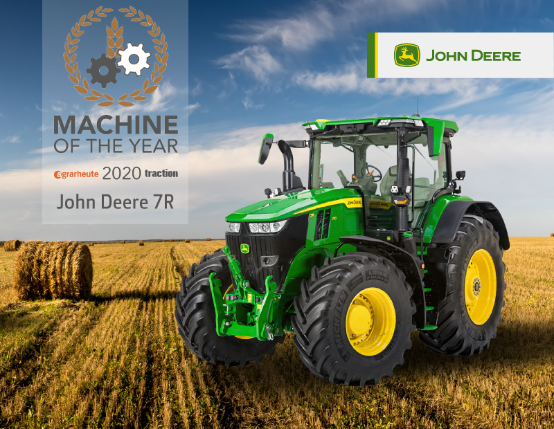 JohnDeere grafika MachineOfTheYear
